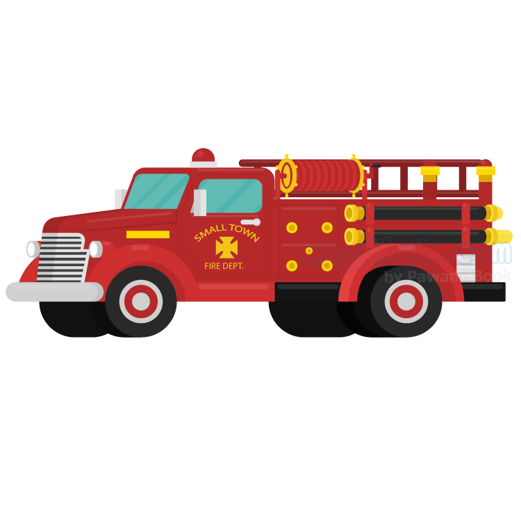 fire engine แปลว่า รถดับเพลิง