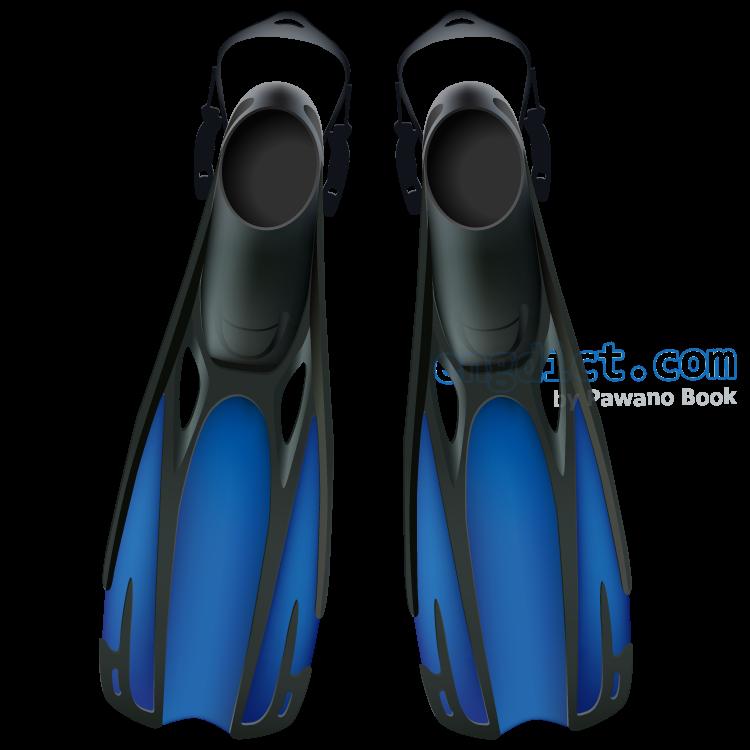 flipper แปลว่า ตีนกบของนักดำน้ำ