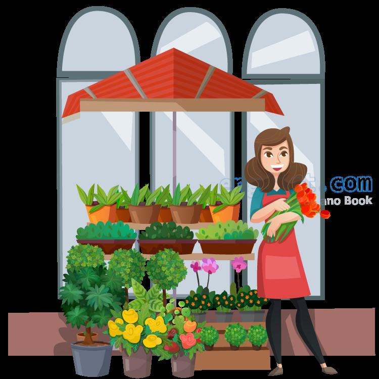 florist แปลว่า คนขายดอกไม้