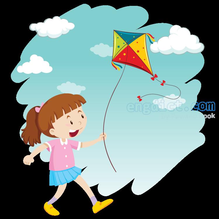 flying kite แปลว่า เล่นว่าว