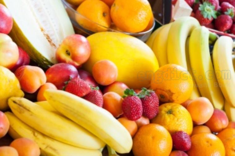 fruit แปลว่า ลูก,ผล
