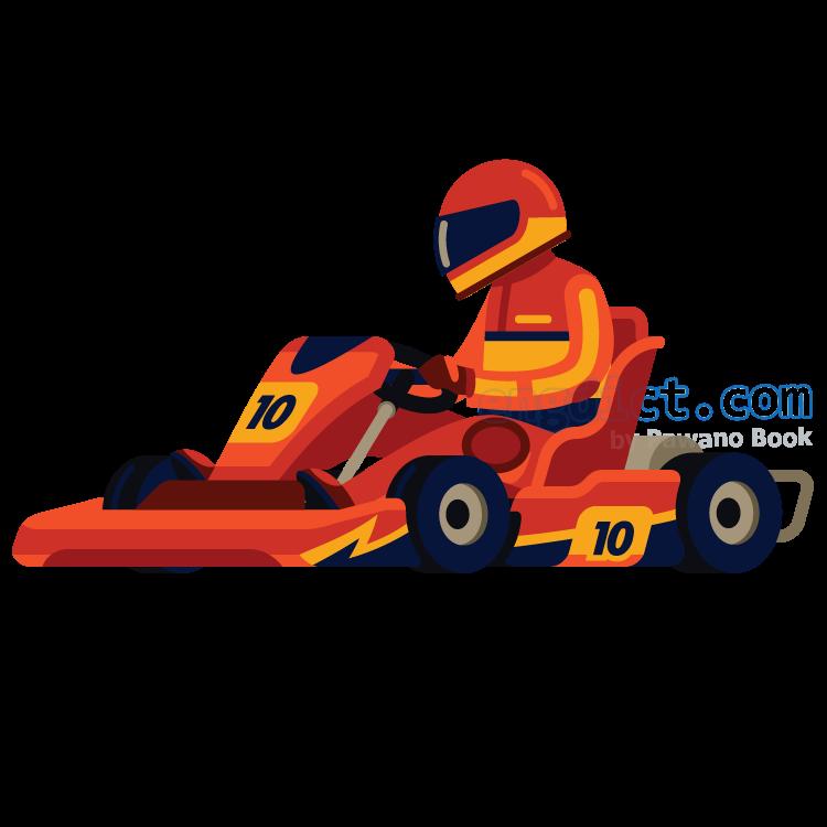 go karting แปลว่า แข่งรถโกคาร์ท
