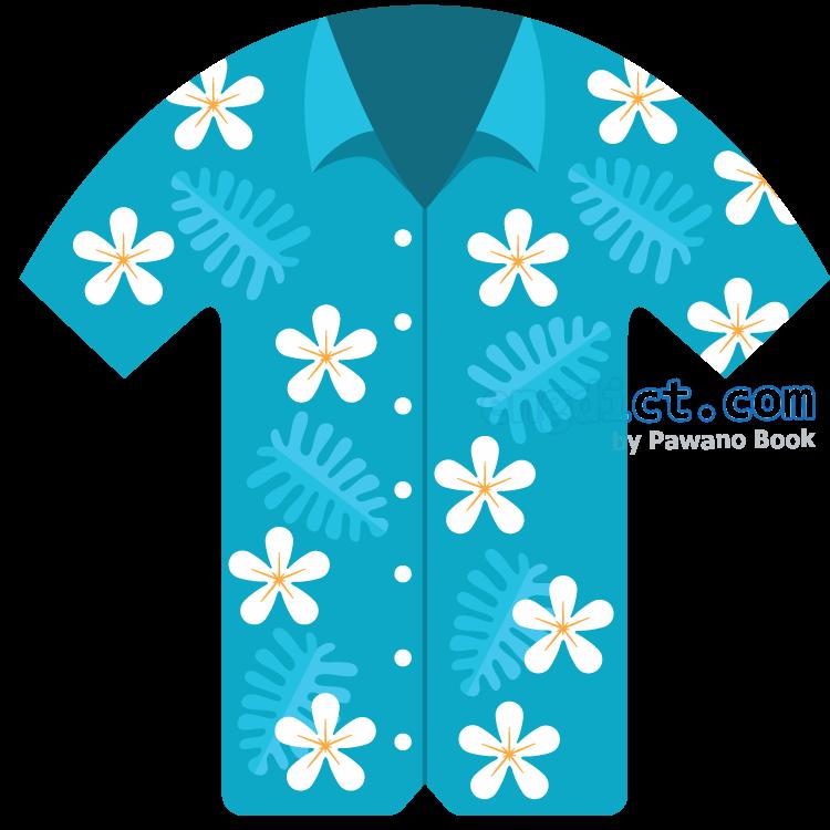 hawaiian shirt แปลว่า เสื้อเชิ้ตฮาวาย