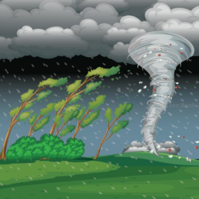hurricane แปลว่า พายุเฮอริเคน