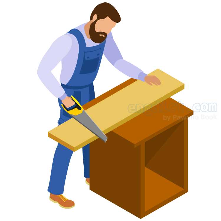 joiner แปลว่า ช่างไม้ทำกรอบประตูหรือหน้าต่าง