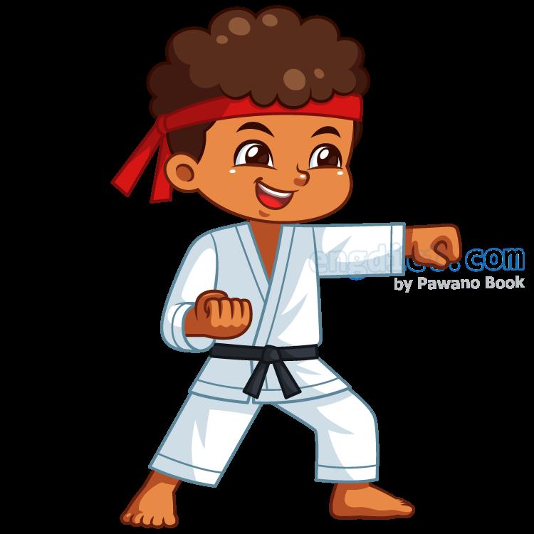 karate แปลว่า กีฬาคาราเต้