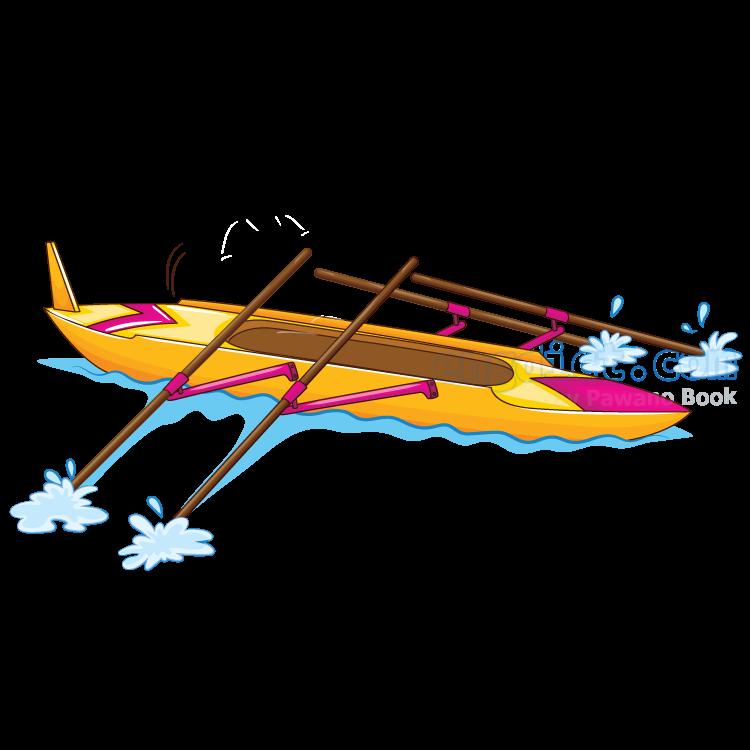 kayak แปลว่า เรือแคนูที่ใช้แข่ง