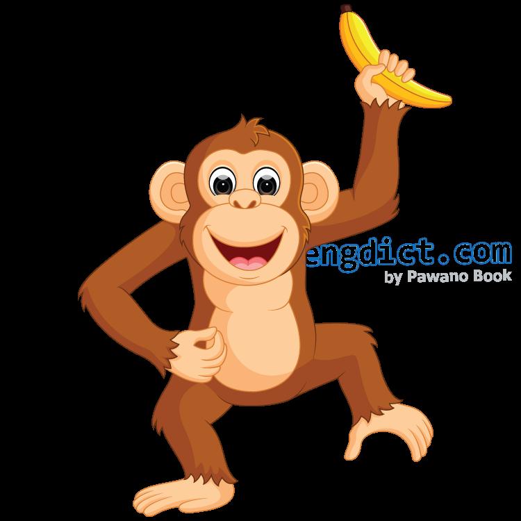 monkey แปลว่า ลิง