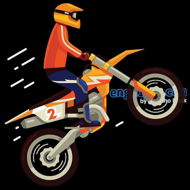 motocross แปลว่า การแข่งขันจักรยานยนต์วิบาก