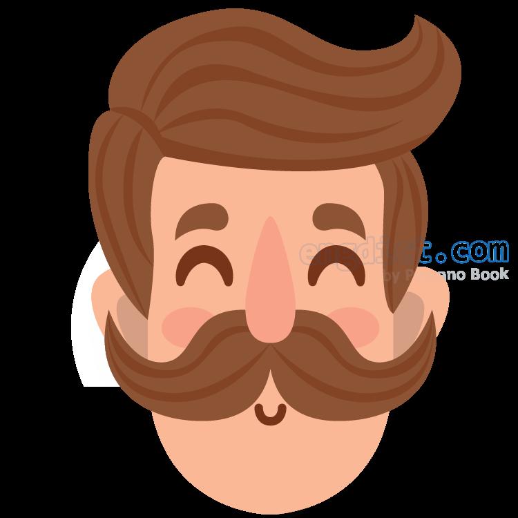 moustache แปลว่า หนวด
