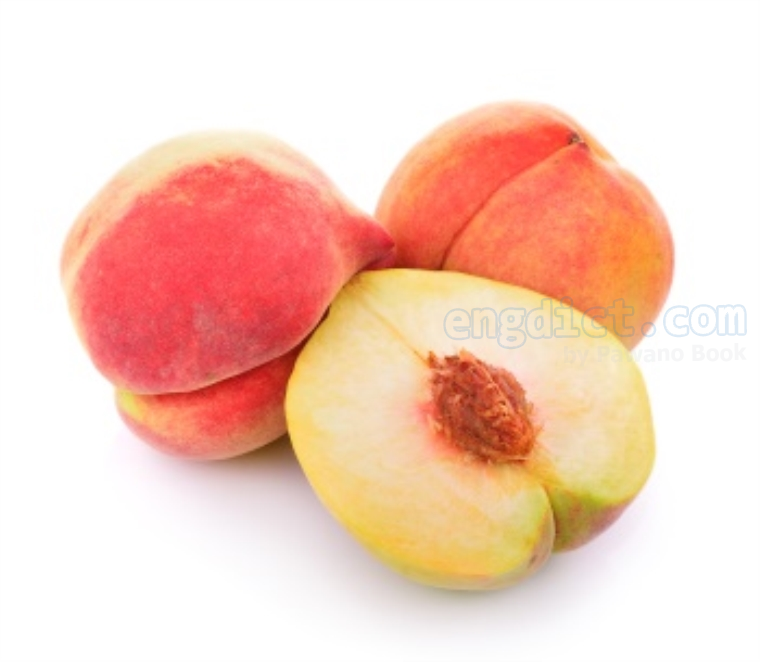 peach แปลว่า ลูกท้อ