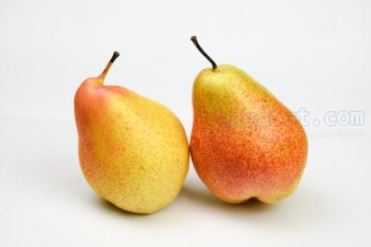 pear แปลว่า ลูกแพร์