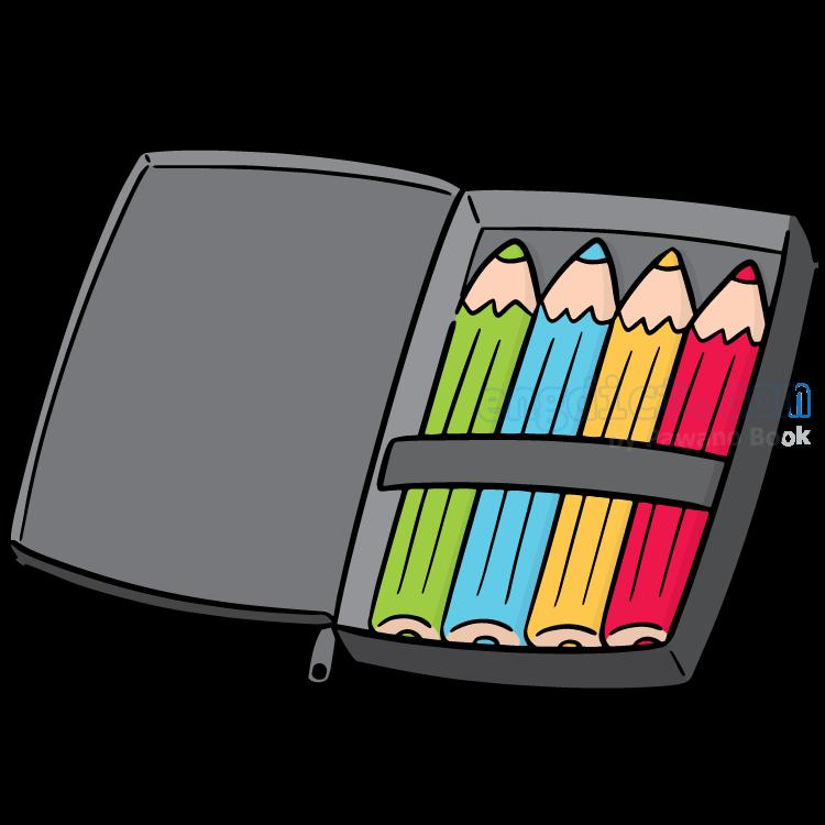 pencil case แปลว่า กล่องใส่ดินสอ