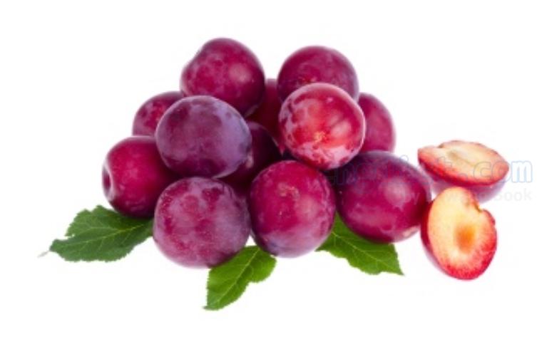 plum แปลว่า พลัม,พรุนแห้ง
