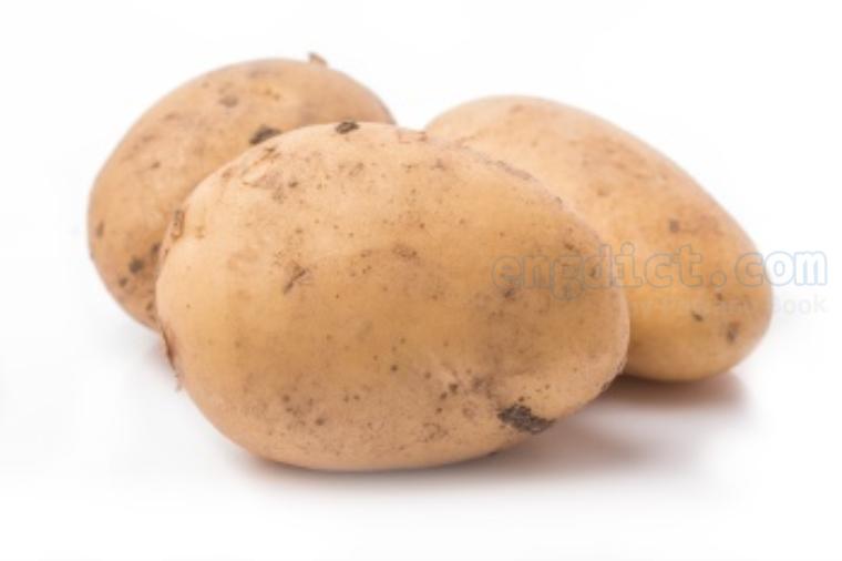 potato แปลว่า มันฝรั่ง