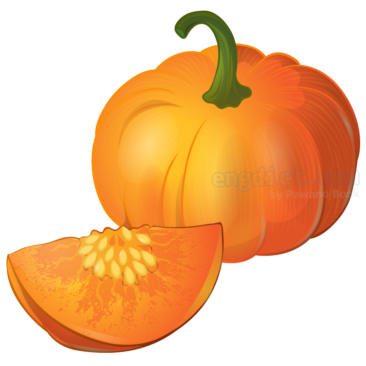 pumpkin แปลว่า ฟักทอง