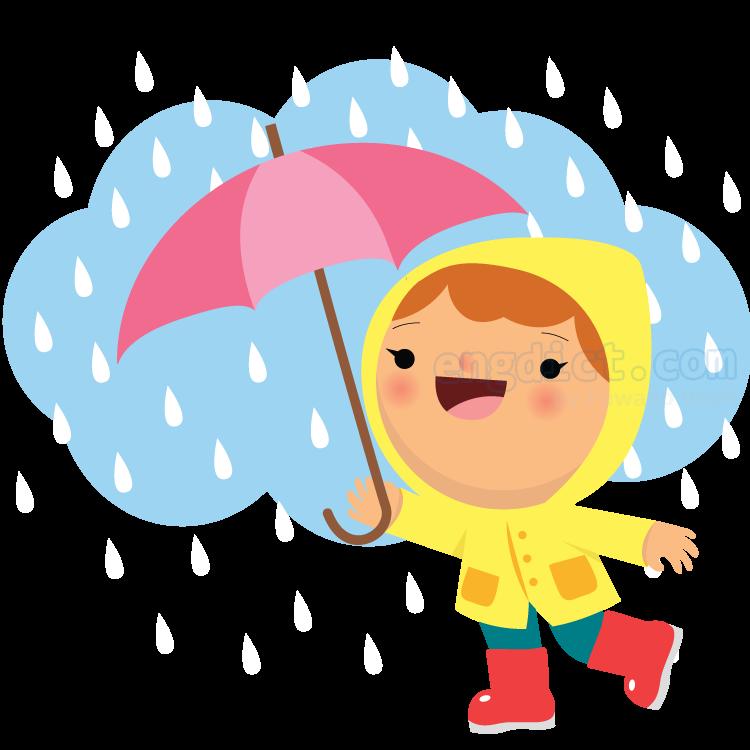 rain แปลว่า ฝนตก