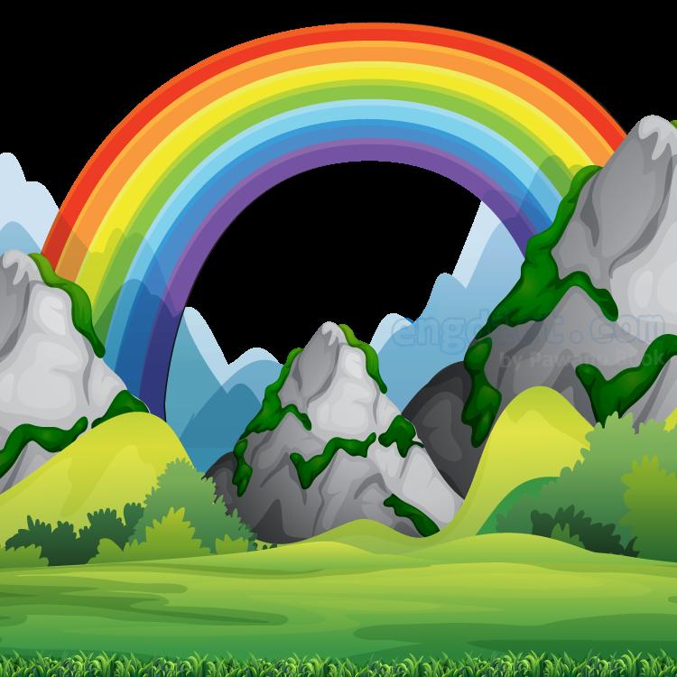 rainbow แปลว่า รุ้ง