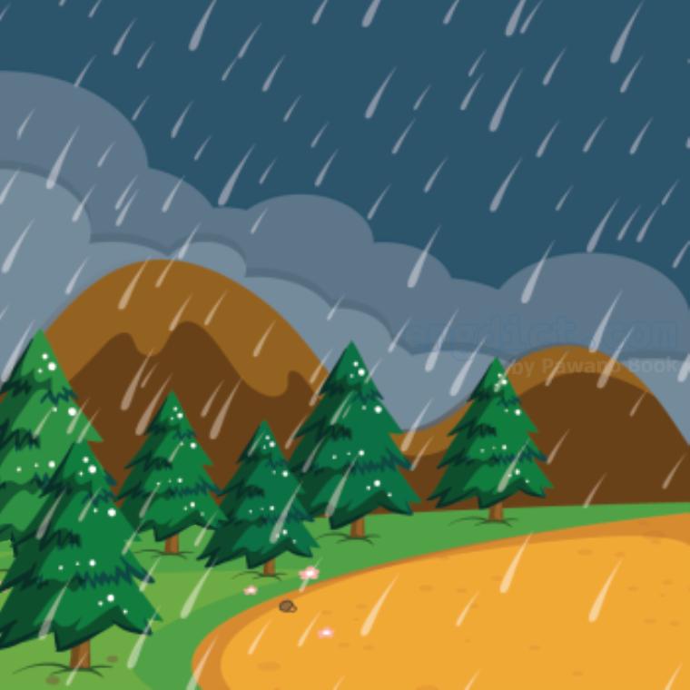 rainy season แปลว่า ฤดูฝน