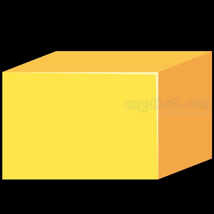 rectangular prism แปลว่า ปริซึมสี่เหลี่ยม