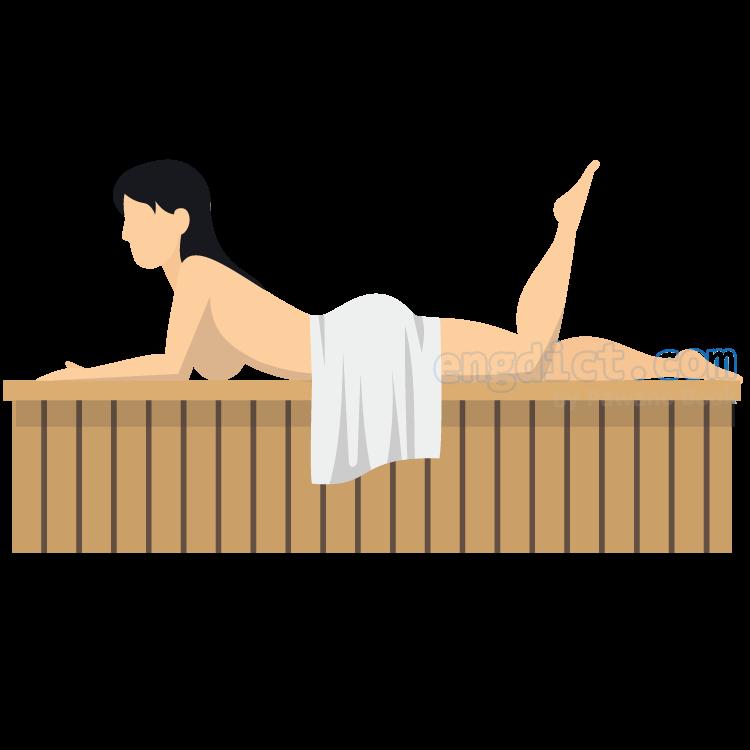sauna แปลว่า การอบเซาว์น่า