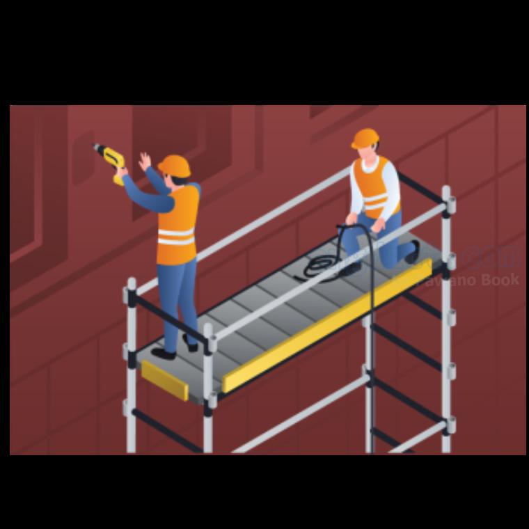 scaffolding แปลว่า นั่งร้าน