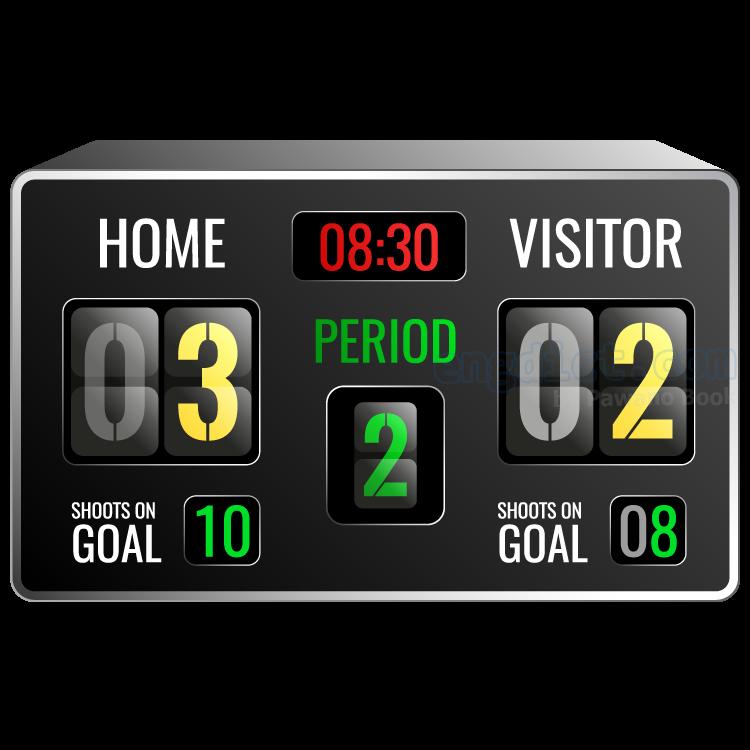 scoreboard แปลว่า กระดานจดคะแนน
