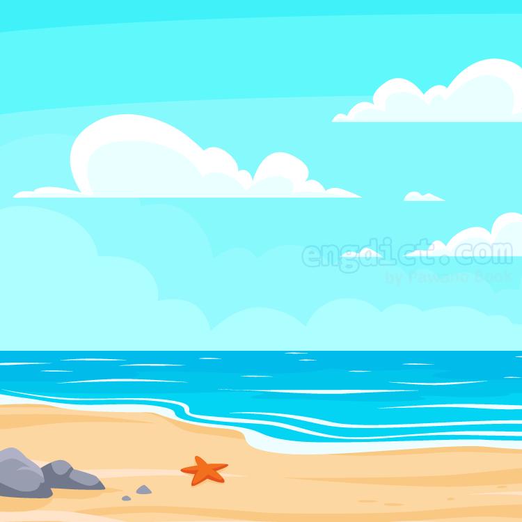 shore แปลว่า ชายฝั่งทะเล