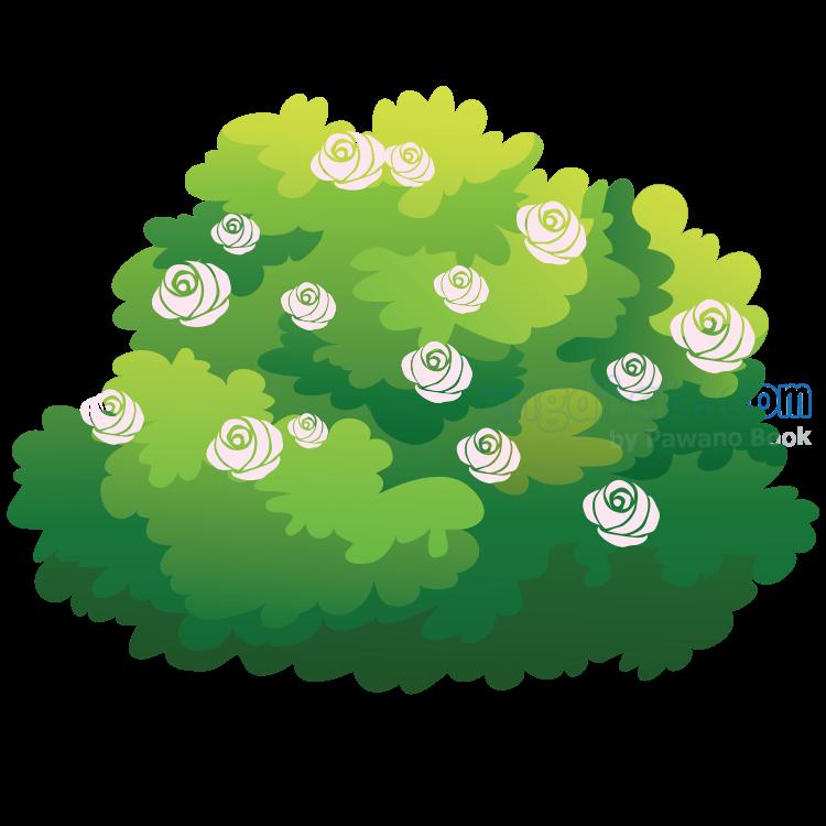 shrubbery แปลว่า ไม้พุ่ม