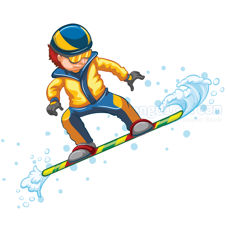 snowboarding แปลว่า กีฬาเล่นสโนว์บอร์ด