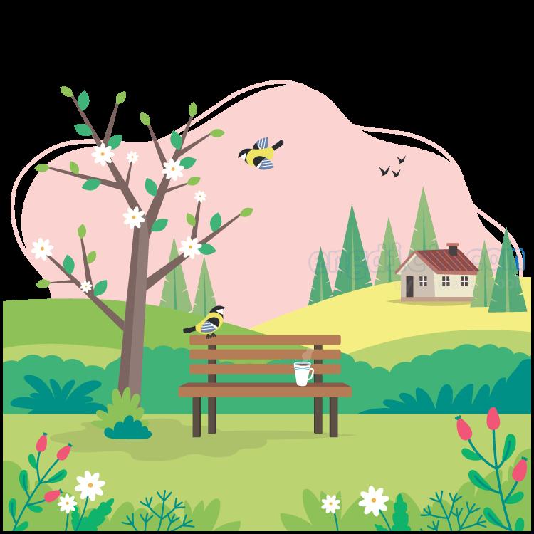 spring แปลว่า ฤดูใบไม้ผลิ