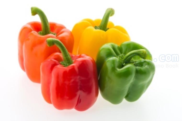 sweet pepper แปลว่า พริกหวาน