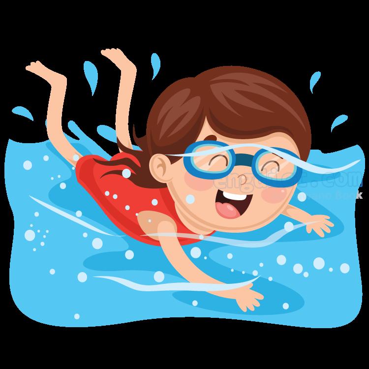 swimming แปลว่า กีฬาว่ายน้ำ