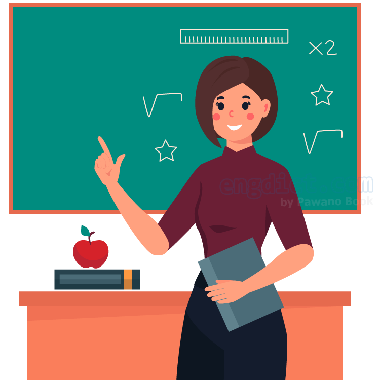 teach แปลว่า สอน