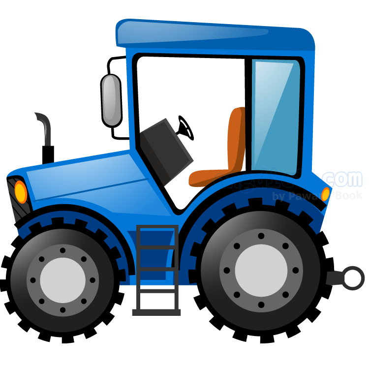 tractor แปลว่า รถแทรกเตอร์