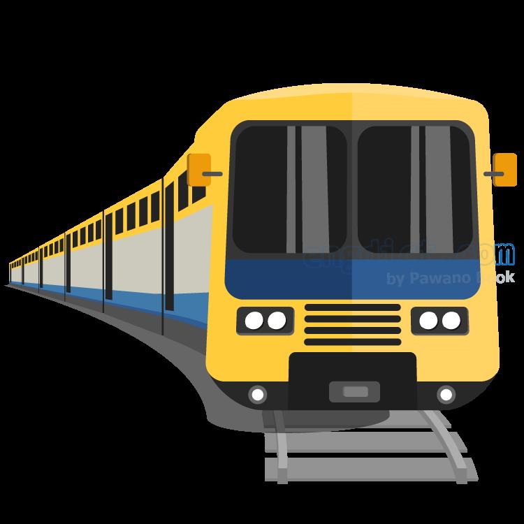 train แปลว่า รถไฟ
