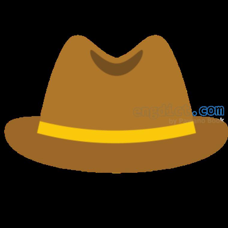 trilby แปลว่า หมวกสักหลาด