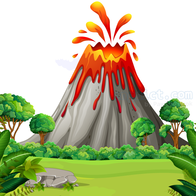 volcano แปลว่า ภูเขาไฟ