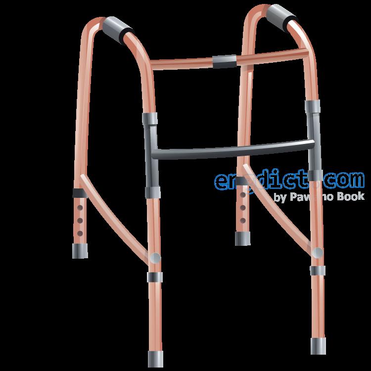 walker แปลว่า อุปกรณ์ช่วยเดิน