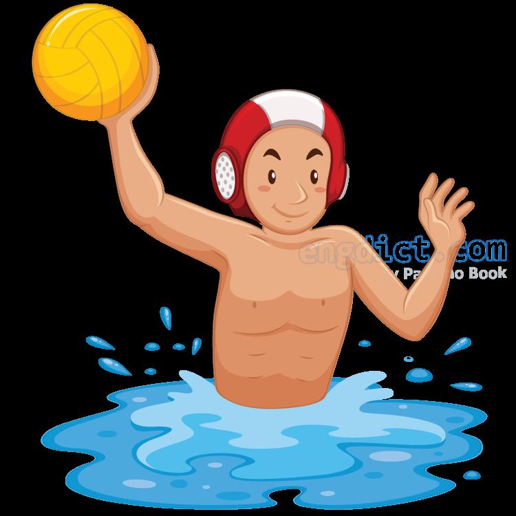 water polo แปลว่า กีฬาโปโลน้ำ