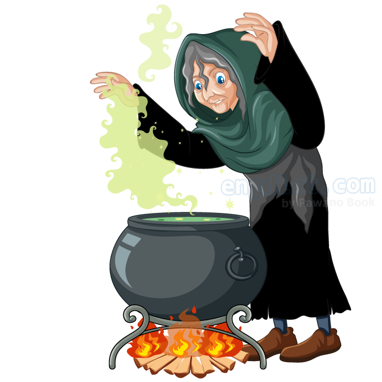 witch แปลว่า แม่มด