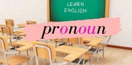 20 คำ pronoun แบบเน้นๆ สำหรับการเตรียมสอบ o-net ชั้น ป.6,ม.3,ม.6